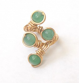 ESTELLE RING – GREEN