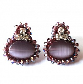 KATE EARRINGS – PURPLE