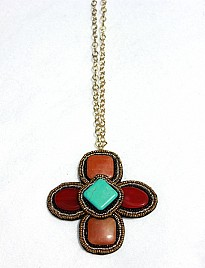 MARITES – TURQUOISE & RED