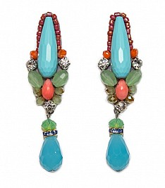 CHARLENE EARRINGS – TURQUOISE