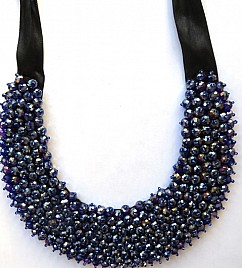 CRYSTAL NECKLACE – BLUE