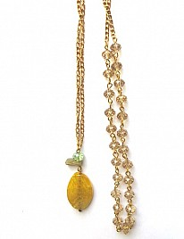 SAMPLE YELLOW NECKLACE