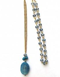 SAMPLE BLUE NECKLACE