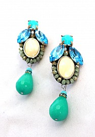 DROP EARRINGS – BLUE