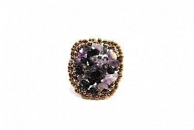 AMETHYST RING – PURPLE