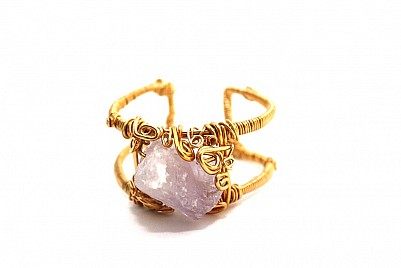 AGATE BRACELET- LIGHT PURPLE