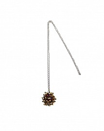 CRYSTAL NECKLACE – CHAMPAGNE