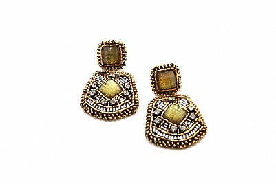 DROP EARRINGS – YELLOW