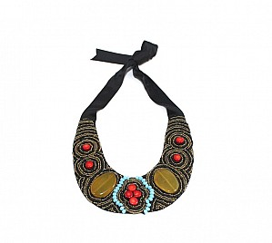 BIB NECKLACE – RED