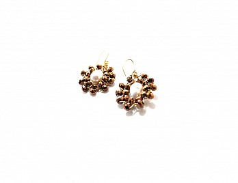 LONDON EARRINGS- BRONZE