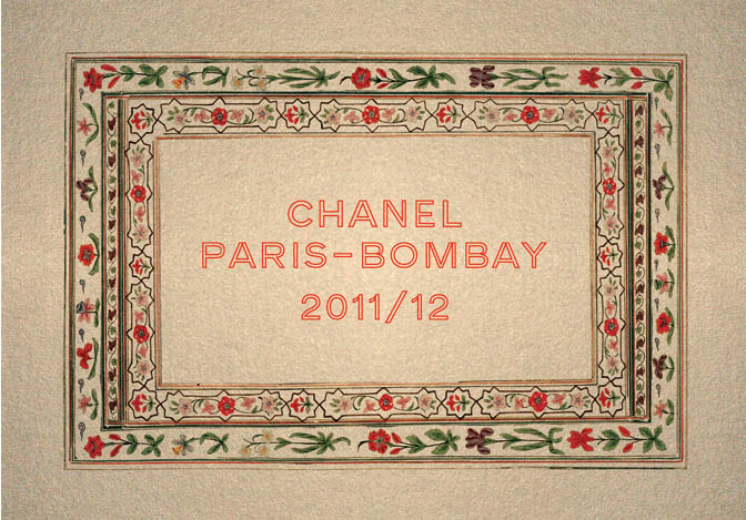 Inspiration: Karl Lagerfeld for Chanel Pre-Fall 2012