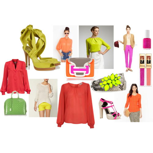 Spring 2012 Trend: Neon