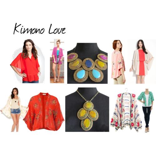 {Spring Trend} Kimono jackets