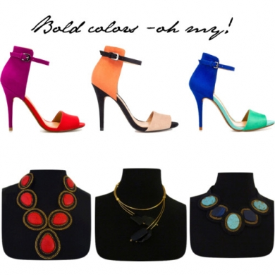 Bold colors - oh my!