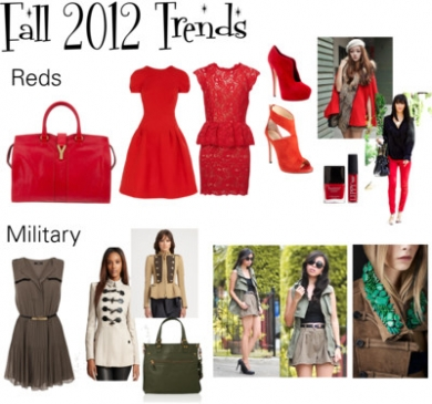 More Fall 2012 Trends