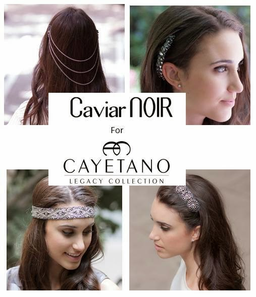 {Special Holiday Collaboration} Caviar Noir for Cayetano Legacy Collection